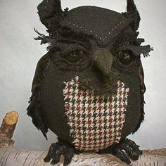 Ann Wood Forlorn Owl