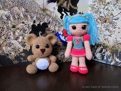 Chloe, the Hit-Girl Amigurumi Free Pattern