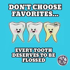 Don't choose favorites.... - Every tooth deserves to be flossed 😀😀😀😀😀😀😀😀😀😀 Book today to see our friendly practice. Call 01708 479717. #harrowdental  #dentist #hornchurch #invisalign #essex #teeth #dentaltreatments #smile #floss