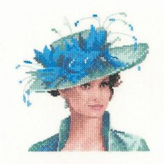 Counted cross stitch designs by John Clayton, featuring elegant ladies in miniature Cross Stitch Angels, Counted Cross Stitch Kits, Cross Stitch Designs, Cross Stitch Patterns, Cross Stitching, Cross Stitch Embroidery, John Clayton, Heritage Crafts, Flower Decorations