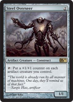 Steel-Overseer-x1-Magic-the-Gathering-1x-Magic-2011-mtg-card-rare-modern