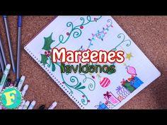 Margenes y Bordes Navideños (IDEAS) // Floritere - YouTube