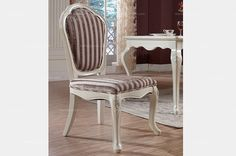 European style armless dining chair - MelodyHome.com