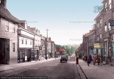 Photo of St Albans, Holywell Hill 1921 from Francis Frith Ryder Cup, St Albans, Places Of Interest, England Uk, British History, Vintage Photographs, Beautiful Images, Good Times, Places To Go
