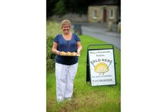 Mary's pasties are just down the road in Tresillian, Cornwall