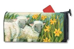 Magnet Works Mailwraps Mailbox Cover - Easter Blessings