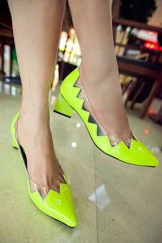 nice Şeffaf Ayakkabılar