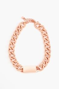 #Necklace - Rose Gold