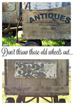 Old Crate Wagon