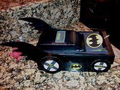 Batman Batmobile Valentine's Box for School. :)