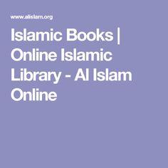 Islamic Books | Online Islamic Library - Al Islam Online