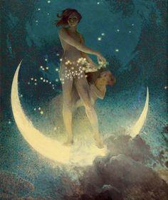 'Spring Scattering Stars', 1927 - Edwin Howland Blashfield