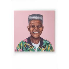 Nelson Mandela Canvas Wall Art by Amit Shimoni Nelson Mandela, Andy Warhol, Salvador Dali, Hipsters, Pablo Picasso, Painting Frames, Painting Prints, Art Paintings, Elizabeth Ii