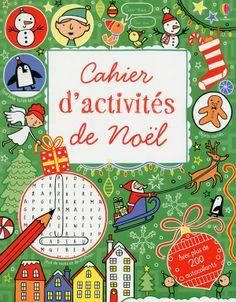 Cahier d'activités de Noël de collectif Usborne
