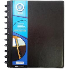 iq 360 leatherette pp large notebook 60ct walmartcom