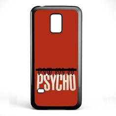 Movie Poster Psycho TATUM-7476 Samsung Phonecase Cover Samsung Galaxy S3 Mini Galaxy S4 Mini Galaxy S5 Mini