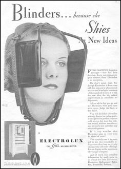 For the woman afraid of technology's progress, a set of horse blinders