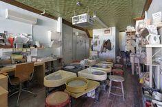 Kelly's future pottery studio.