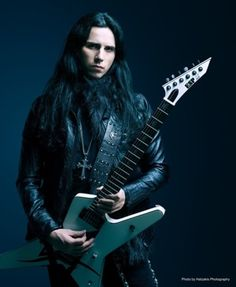 Gus G - Guitarist from Firewind and Ozzy Jason Music, Power Metal Bands, Electric Guitar Kits, Gus G, Esp Guitars, Viking Metal, Types Of Guitar, Black Label Society, Heavy Rock