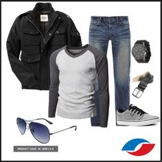 Winter Has Come!   Here's the Scott Eyewear's Winter Fashion guide for men.   Black Jacket  White Grey Pullover  Rugged Blue Denim  Grey Sneakers  Charcoal Grey Leather Belt Black Belt with Grey Dial Wrist Watch Violet Tint Sunglasses   #WinterCollection #ScottEyewear