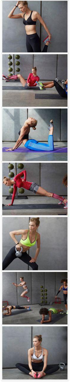 Karlie Kloss for Nike Fall Winter 2014