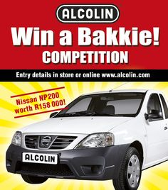 Alcolin Contractors Acrylic Promotion and Win A Bakkie Competition Competition, Promotion, Store, Business, Shop, Storage