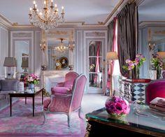 Au Plaza Athenee Suite-Prestige-salon