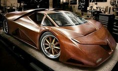 Wood car by Spliten.
