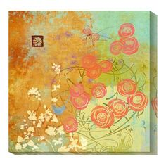 I pinned this Blustery Fall Canvas Print from the For the Birds event at Joss and Main!