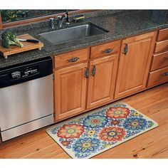 7 best Decorative Kitchen Floor Mats images on Pinterest | Kitchen ...