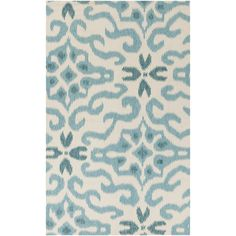 Kate Spain has new patterns and colors for her Marseille Collection of flat weave rugs for Surya. Sweet, simple and graphic. (MRS-2008)