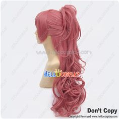 Riddle Story Of Devil Cosplay Haruki Sagae Wig With Ponytail Long... (53 AUD) ❤ liked on Polyvore featuring beauty products, haircare, hair styling tools, hair and hair and wig