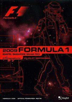 817GP - 2009 FORMULA 1 SINGTEL SINGAPORE GRAND PRIX PROGRAMA