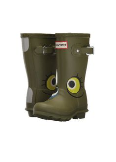 Kids Original Alien Boots Kids Rain Boots, Rubber Rain Boots, Hunter Kids, Natural Rubber, Back Strap, Hunter Boots, The Originals, Chinese Jump Rope, Hunting Boots