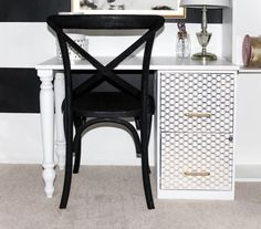 Hundreds of people are commenting on this stunning file cabinet idea and you will instantly see why!