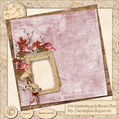 """Marzia's Place QP kit """"A bit of Yesterday"""" by Maria Designs - may 2014"""