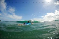 Some good buddies... tasty waves... REAL time to have fun! www.realsurftrips.com