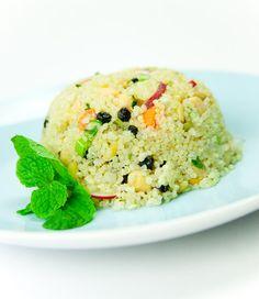 Quinoa Blueberry Salad #recipe