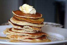 my favorite meal is breakfast and these will do, pancakes anytime