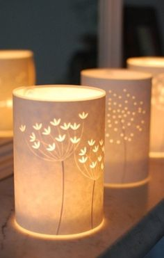 Fennel Candle Cover  by Hannah Nunn
