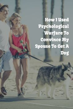 """Getting a dog is literally the only time when it's OK to torment your loved one. And no, """"you accidentally set fire to the plants-how will you take care of a dog?"""" is NOT an acceptable argument! http://www.breederretriever.com/blog/life/convince-spouse-to-get-a-dog"""