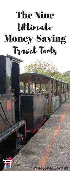 Money Saving Tools | Travel Tips | Travel Money Tips | Save Money for Travel | Money Travel Tools
