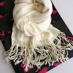 """SALEFringes scarf NWOT 15% OFF!!! It will be applied when you purchase.New without tag. 76"""" x 42"""" Accessories Scarves & Wraps"""