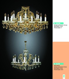 Maria Theresia Design Finest Chandeliers - 47