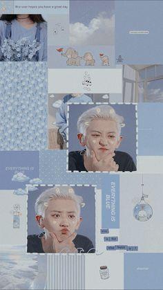 Chanyeol Cute, Park Chanyeol Exo, Kpop Exo, Exo Chanyeol, Kyungsoo, Chansoo, Chanbaek, Kpop Wallpaper, Exo Lockscreen