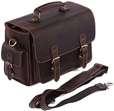 S-ZONE Vintage Genuine Leather DSLR SLR Camera   Shoulder Bag  Amazon.ca 13ae51ebcf