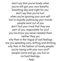 No hard feelings 💙