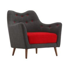 Poppy Buttons Armchair