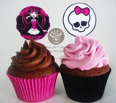 Amor de CupCake: Cupcake Monster High