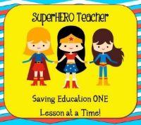 SuperHERO Teacher Blog... Young teacher with new ideas!